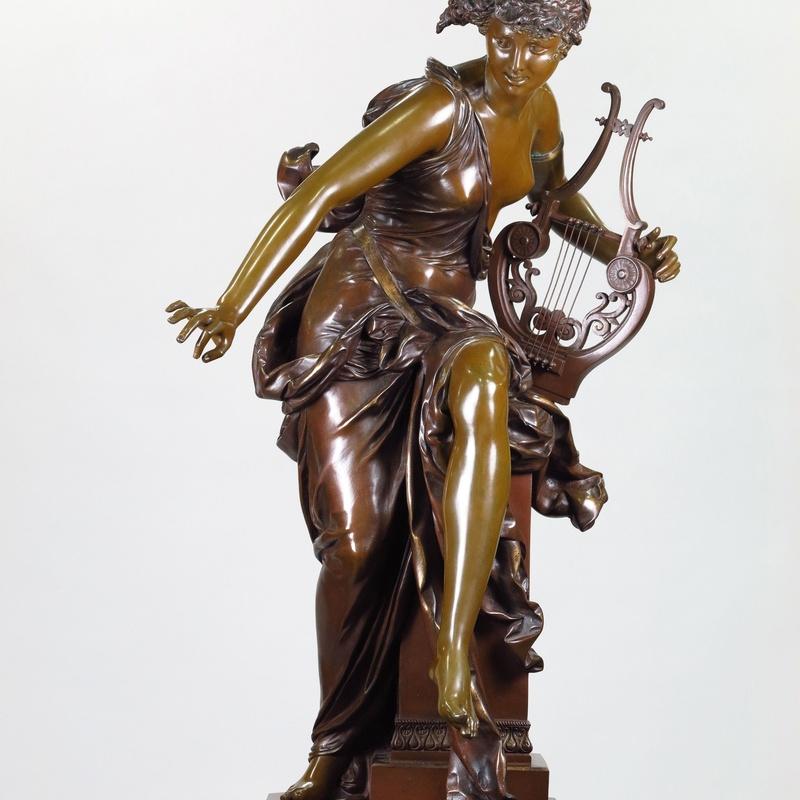 Albert Ernst Carrier-Belleuse (Francia, 1859 - 1945): Catálogo de Goya Subastas
