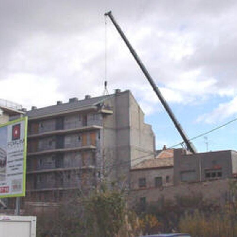 Trabajos con empresas constructoras: Servicios de K-2 Trabajos Verticales