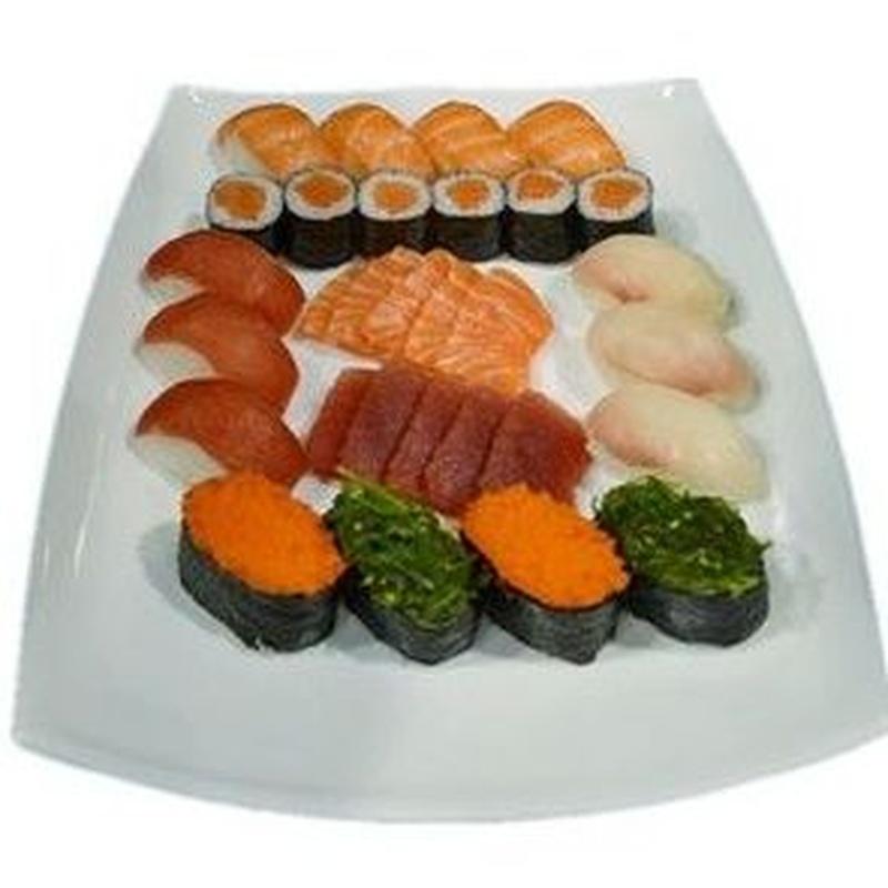 Menú 14: Menús de Kiniro Sushi