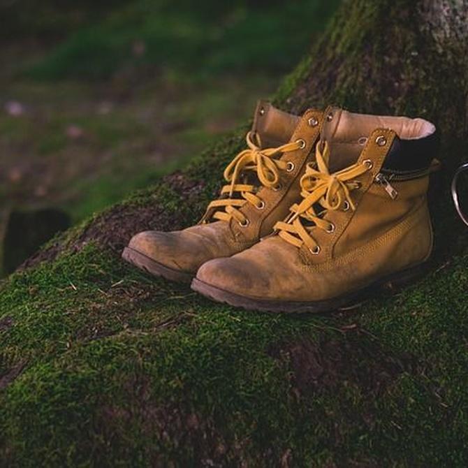 Cosido de zapatos a mano