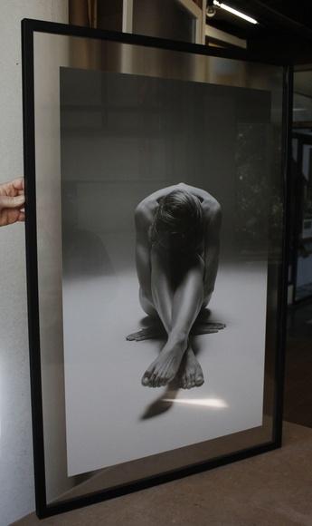 Enmarcado en doble cristal con perfiles traseros ocultos