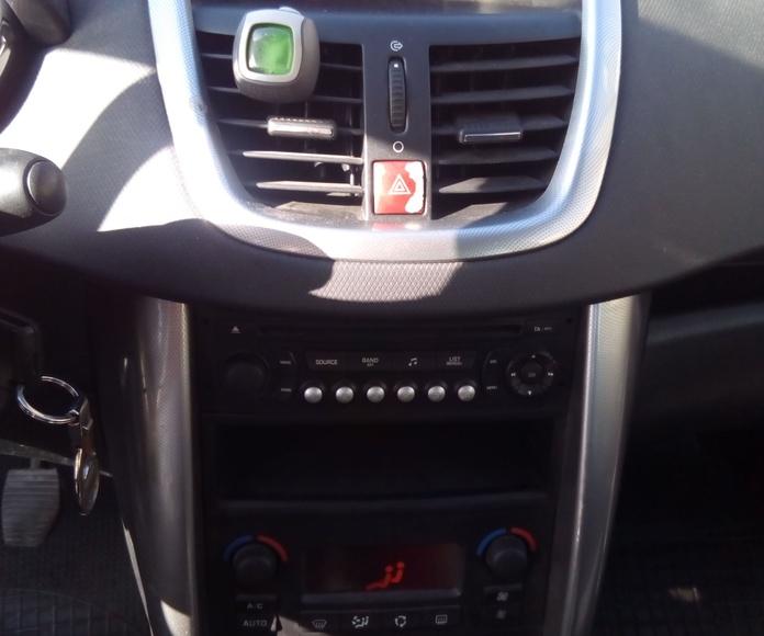 Peugeot 207 1.6 110 CV : Suspensiones y vehículos de Romero Autoparts Zaragoza