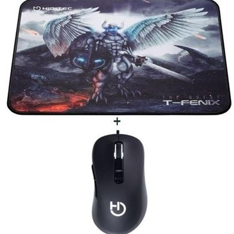 Hiditec Ratón GMO010003 Gaming Blitz+Alf.T-Fenix M: Productos y Servicios de Stylepc