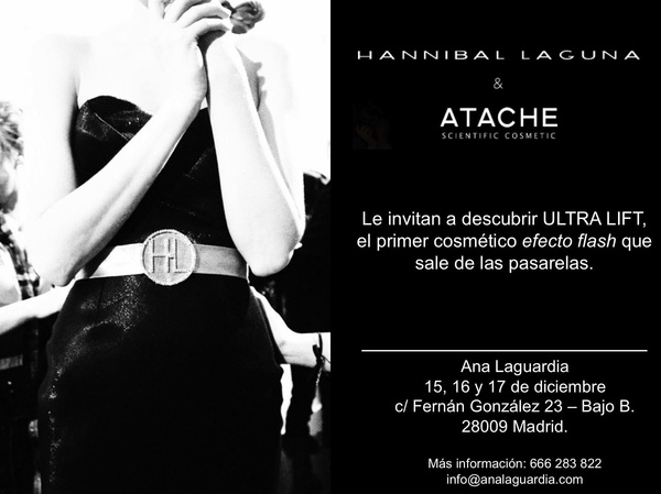 EVENTO ULTRA LIFT FLASH EFECT-HANNIBAL LAGUNA BY ATACHE
