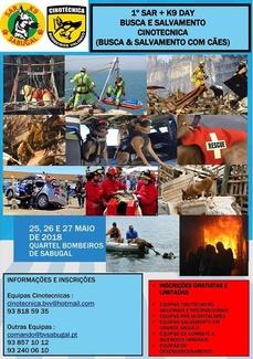1º SAR + K9 DAY BUSCA E SALVAMENTO