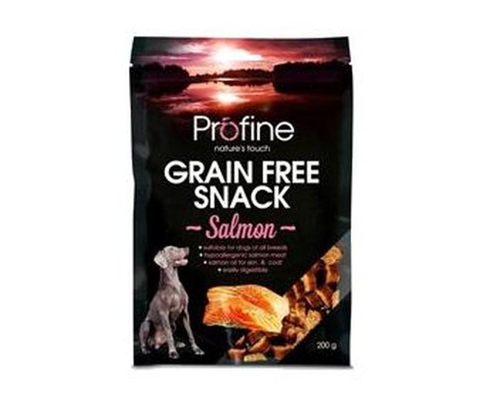 Profine Snacks para perro sin grano y sin gluten de salmón 200 gr