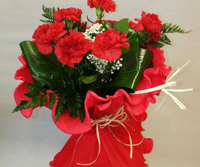 Ramo de claveles : Catálogo de Regalos de Floresdalia.com