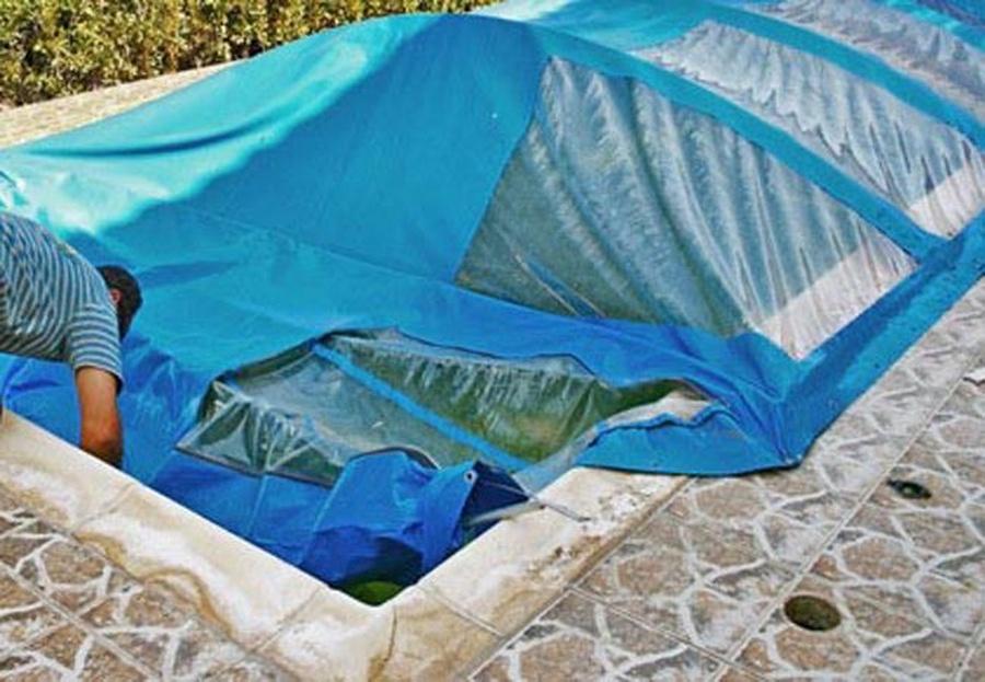 Preparar la piscina para el invierno