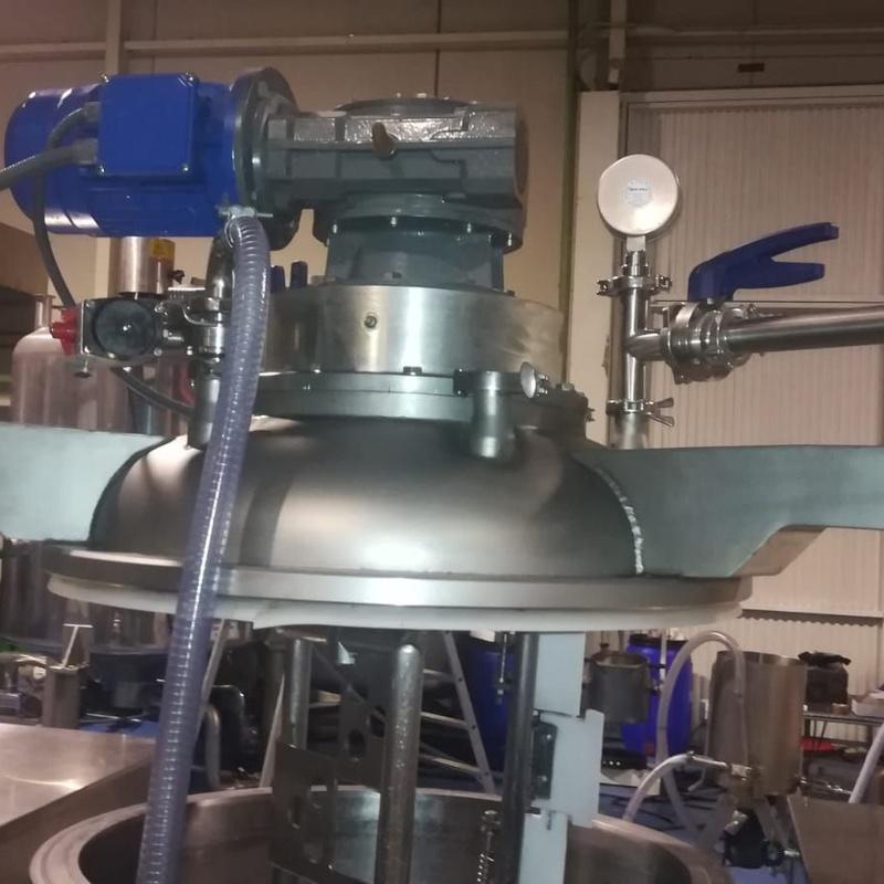 Batidora emulsionadora de 200 litros:  de MAQUIMUR