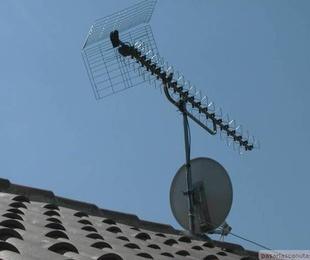 Instalacion antenas TV parabolica y Dividendo digital