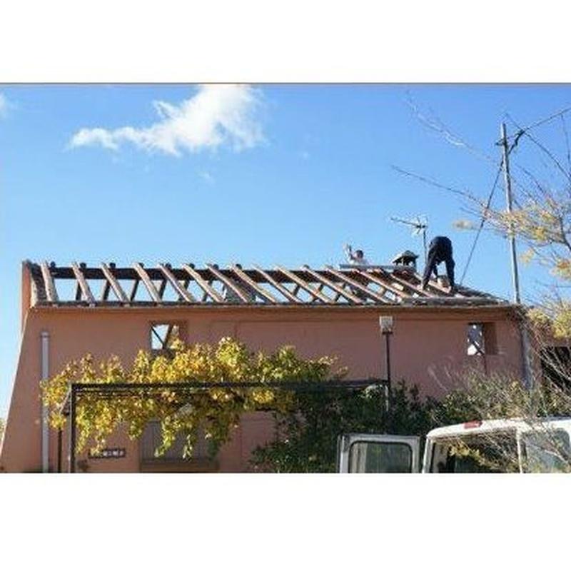 Rehabilitación de tejados: Servicios de Teula i Fusta
