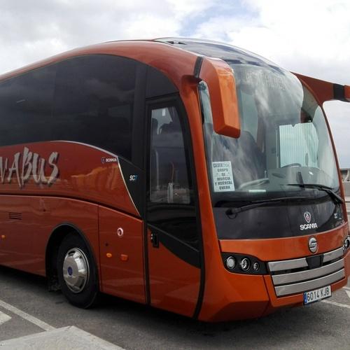 Alquiler de microbus en Huercal Overa | Autocares y Microbuses Nievabus