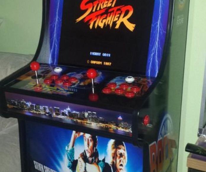 Máquinas arcade retro: Máquinas recreativas de Arcade Retro