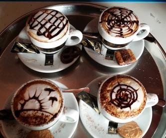 La hora de compartir...: Servicios de Cafetería Tosteria O´Clock