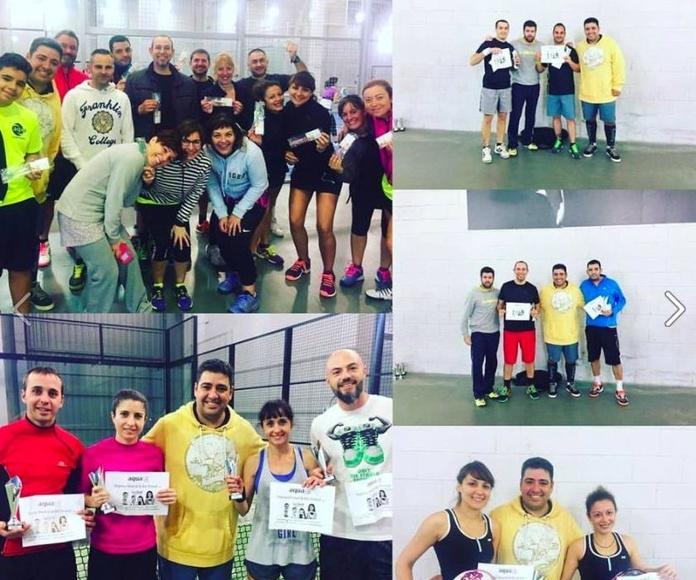 Con nuestros amigos de Aqua Sports Club :-)