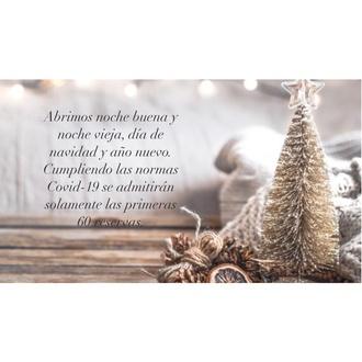 Abrimos estas Navidades