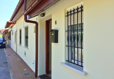 Aislamiento térmico de fachadas con mortero ecológico
