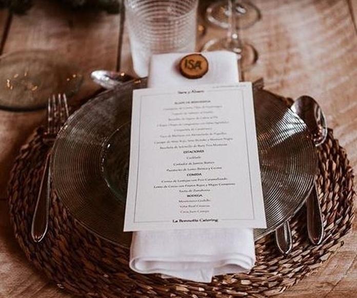Banquetes particulares en Madrid