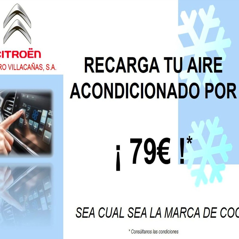 PROMOCION RECARGA AIRE ACONDICIONADO 79€ *: Catálogo de ALVARO VILLACAÑAS SAConcesionario