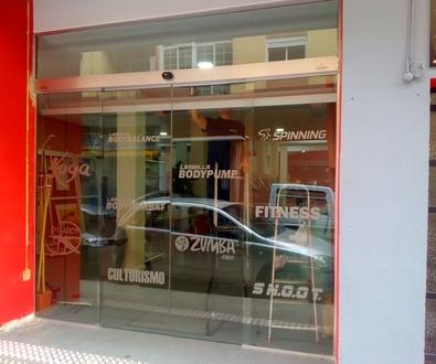Puertas automáticas de cristal Farem Max
