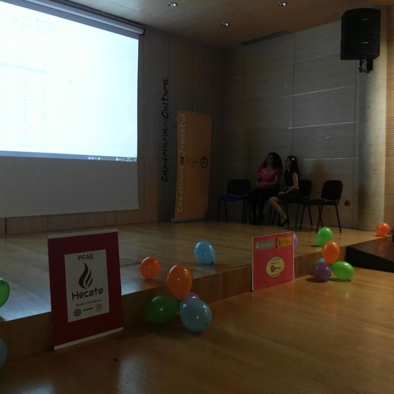 HOMENAJE – CLAUSURA PFAE HÉCATE: Proyectos y Servicios de Asociación Domitila