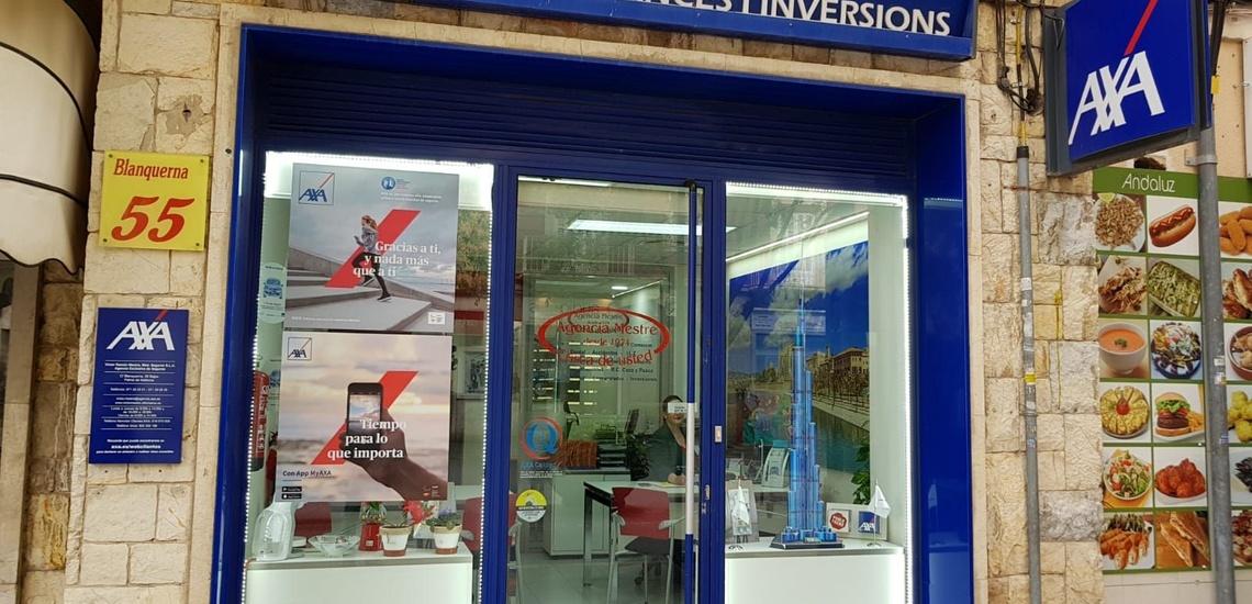 Agencia de seguros AXA en Palma de Mallorca con una excelente atención