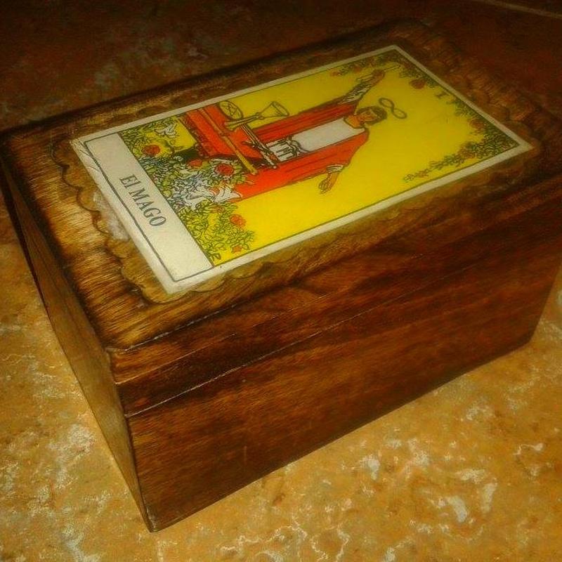 Caja Cartas: Cursos y productos de Racó Esoteric Font de mi Salut