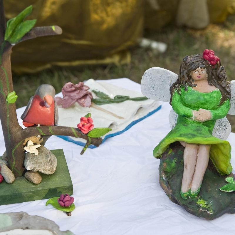exposició ceràmica festival fi de curs 2011