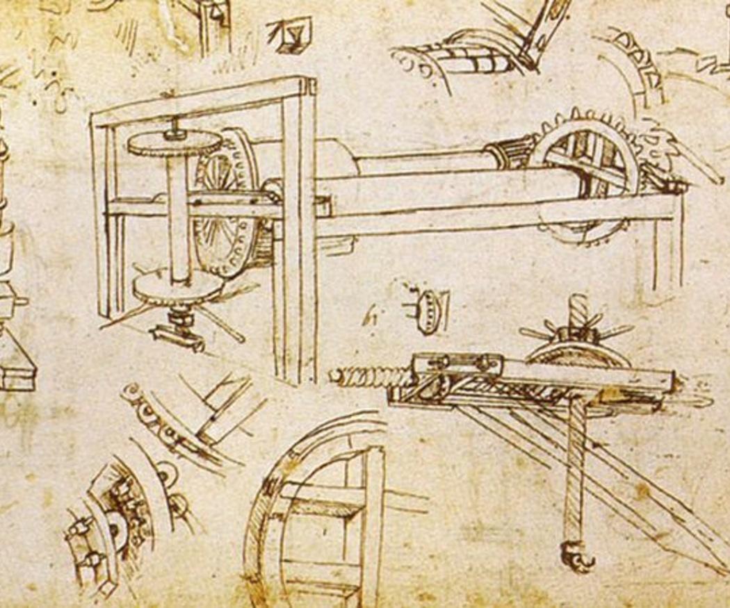 Las máquinas de Da Vinci