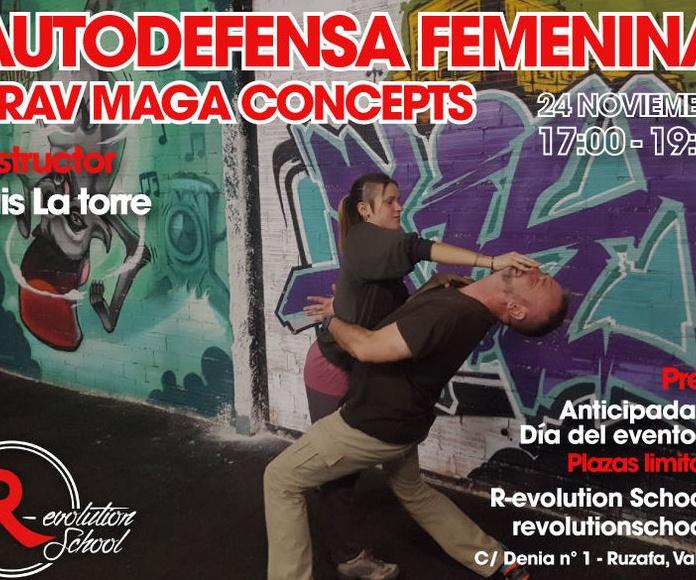 Taller Autodefensa Femenina - Krav  Maga Concept