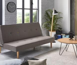 Un sofá cama con estilo