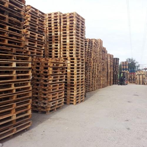 Compra y venta de palets reciclados en Alcalá de Henares
