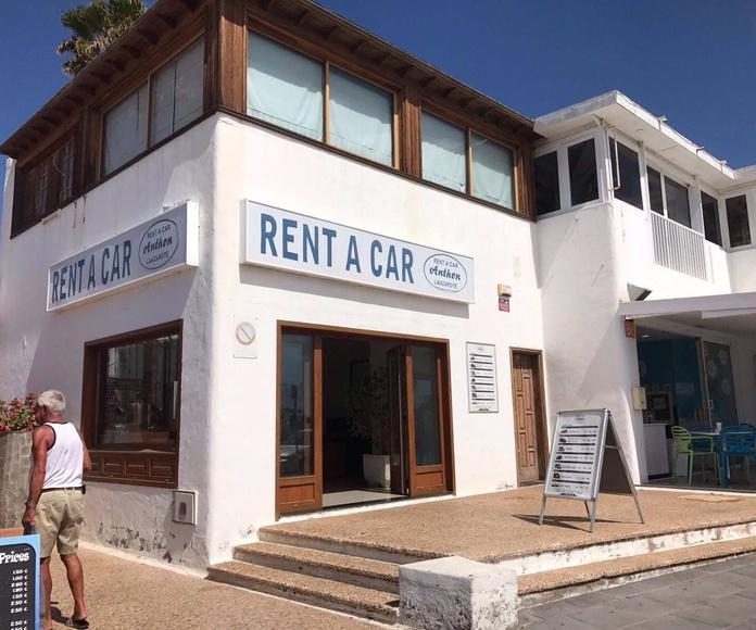 Alquiler de coches Lanzarote : Servicios de alquiler de Rent a Car Anthon