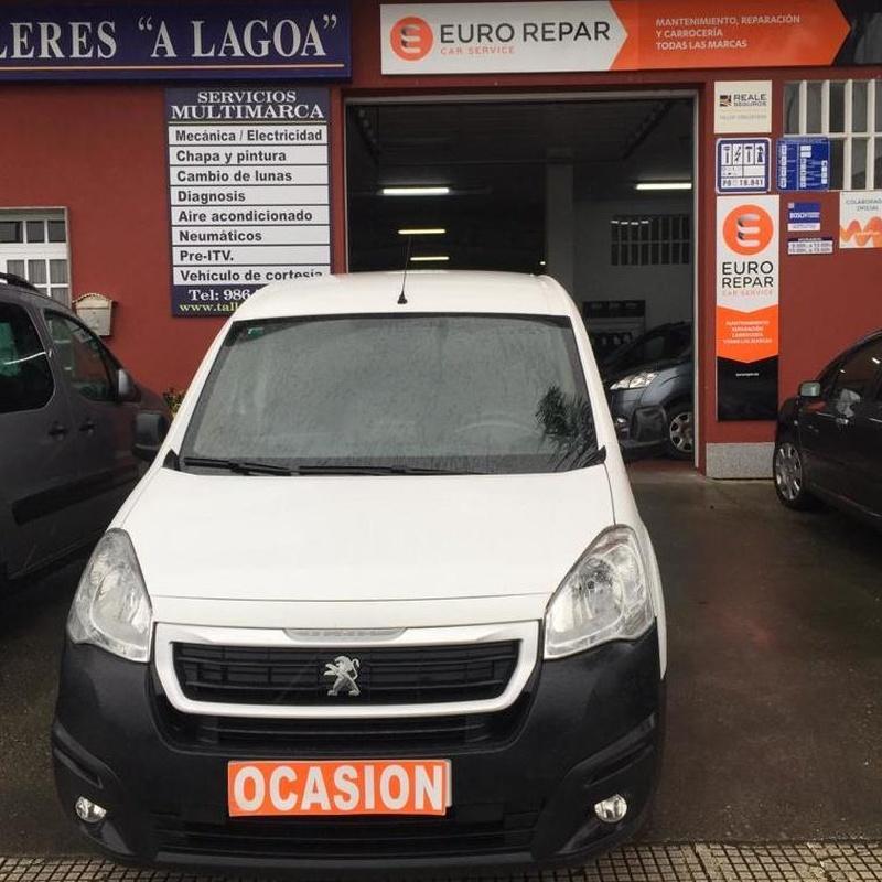 Peugeot PARTNER 1.6BlueHDI 100CV:  de Ocasión A Lagoa