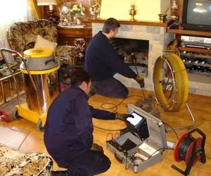 Revisión chimeneas domésticas e industriales.
