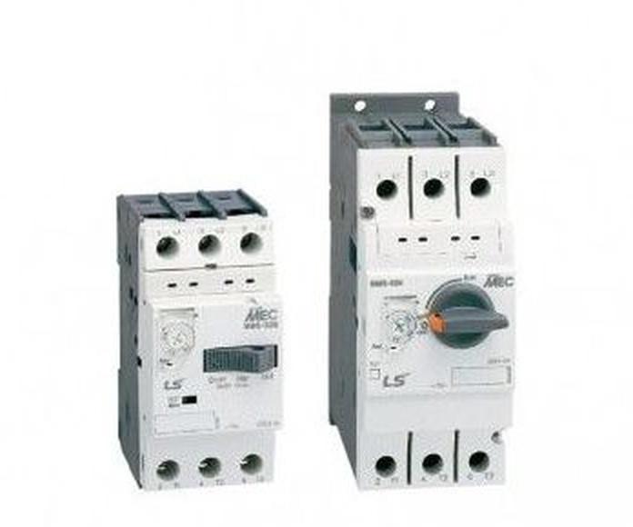 Interruptores guardamotores magnetotérmicos: Productos  de JYG Automática Industrial
