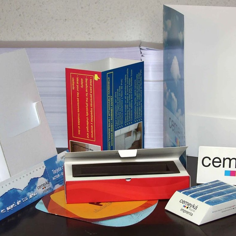 Manipulados de papel: Servicios de Cemeyka Digital