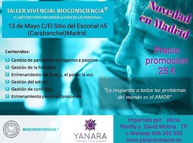 TALLERES DE BIOCONSCIENCIA EN MADRID