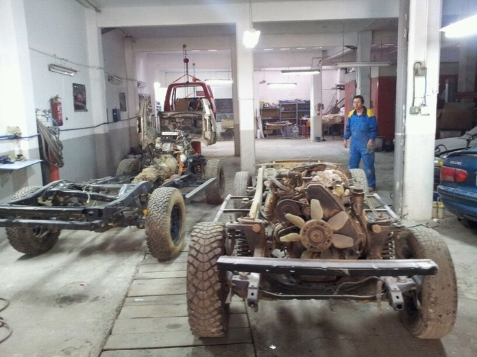 Reparación de coches antiguos: Servicios de Gurutzeta Motor