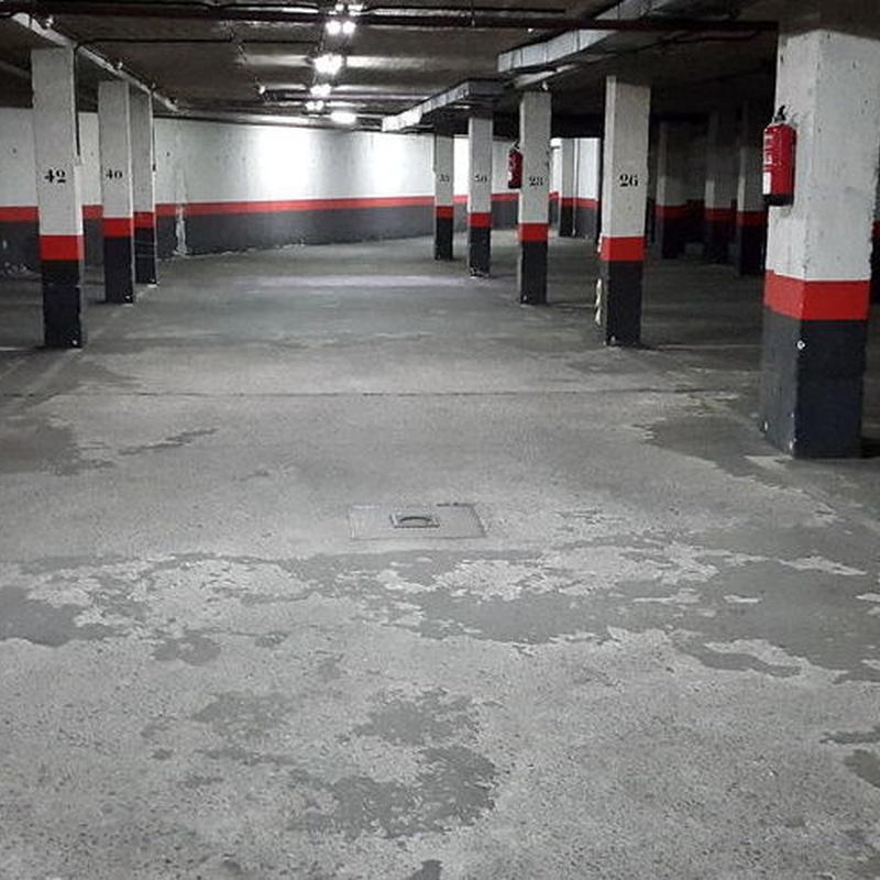 Restauración de pavimentos deteriorados: Servicios de Vitrificados Kiko Ramón