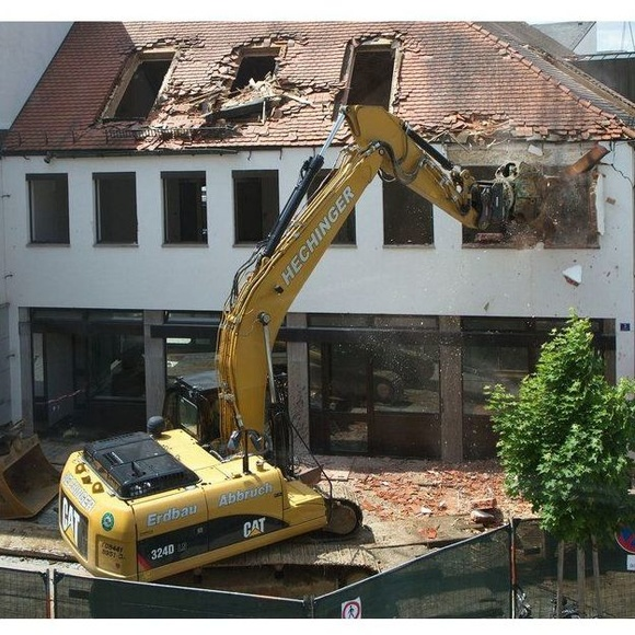 Máquinas de demolición: Servicios de Canastell Urbana
