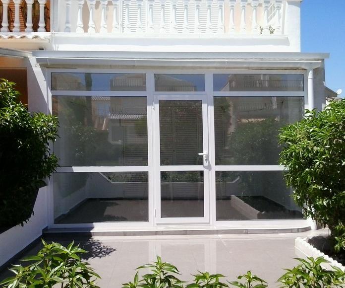 Estructuras de aluminio, hierro y acero: Productos de Tech Glass Systems