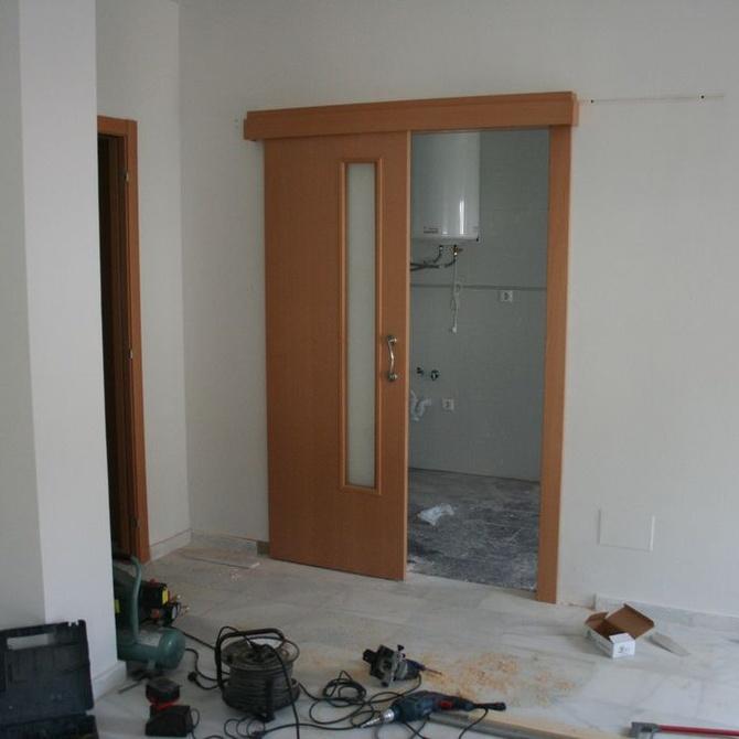 Algunas ideas para colocar las puertas correderas