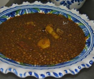 1 Lentejas con Chorizo.