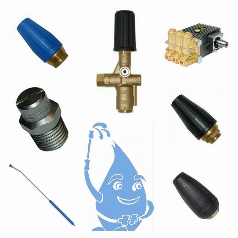 Repuestos y accesorios de alta presión: Productos y servicios de Hidroneri