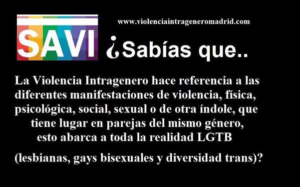 Servicio de Atención a la Violencia Intragénero