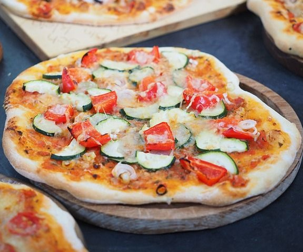 La pizza también puede ser un plato de calidad