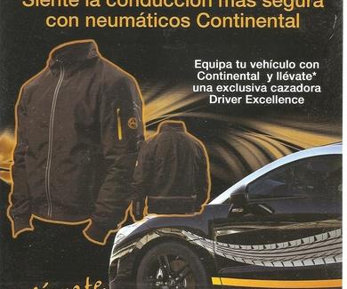 Equipa tu coche con Continental