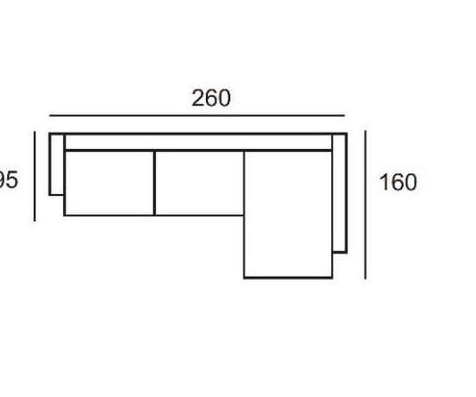 Sofá DRAGA: Productos de Crea Mueble