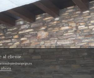 Colocación de piedra en Asturias | Colocación de Piedra O Pego